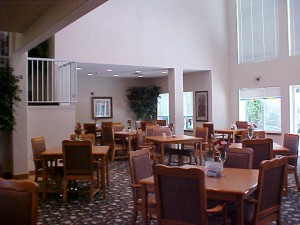 Dining Room-Assisted Living Facility