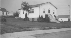 The house in about 1952.