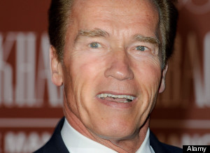 Arnold Schwarzenegger attends the Gorby 80 Gala at a central London venue.
