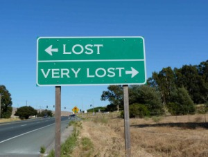 Lost sign